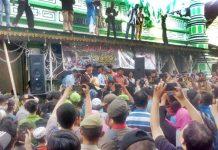 Festival budaya serak gulo muslim India di Padang, Sabtu (25/01/2020) Dok. Ratna Novita Sari.
