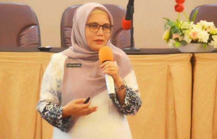 Kepala Dinas Kesehatan Kota Padang, Feri Mulyani Hamid.