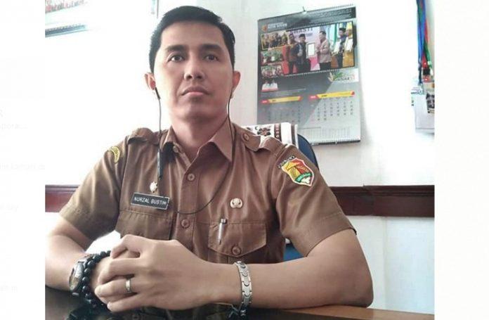 Juru Bicara Gugus Tugas Percepatan Penanggulangan Covid-19 Pemerintah Kota Solok, Nurzal Gustin, SSTP, MSi