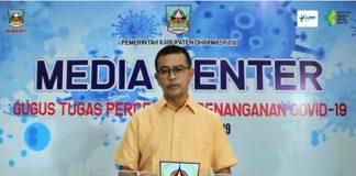 Kepala Dinas Kesehatan dr Rahmadian S