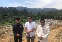 Ketua DPRD Pasaman Barat Bersama Anggota DPRD Lainnya Sidak ke TPA, Muaro Kiawai, Senin (03/08/2020) Siang