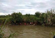 Warga dan Pihak Nagari Sedang Melakukan Pencarian terhadap Korban Rusdi di Pasaman Barat (Istimewa)
