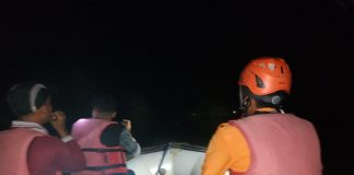 Terkendala Lampu Penerangan, Tim SAR Gabungan Pasaman Barat Masih Melakukan Pencarian Rusdi (14/01/2020) Malam