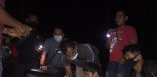 "Satresnarkoba Polres Pasaman Barat Menangkap ""M"" di Pinggir jalan Jorong Tapus, Nagari Sungai Aua, Senin (18/01/2021) Malam"